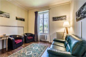 Une photo du cabinet de la villa Catherine à Vannes dans lequel Hélène Lassignardie, psy tcc, vous reçoit